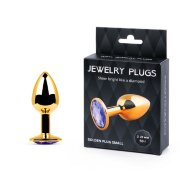 GOLDEN PLUG SMALL, цвет кристалла светло-филетовый * вес 50гр